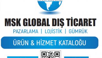 MSK GLOBAL 2019 DIŞ TİCARET KATALOĞU